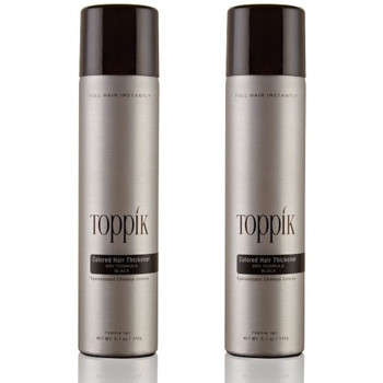 2 x TOPPIK Colored Hair Thickener